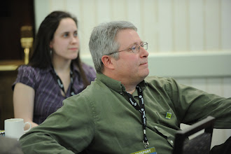 """Photo: Participant (Ted Hartwell) at the CNA Communications Workshop """"Talking Radiation: Are you safe, can we trust you?"""""""