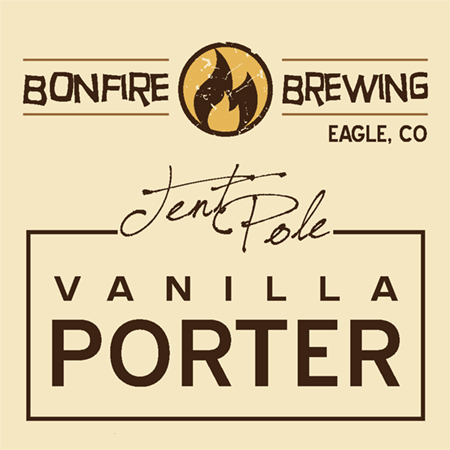 Logo of Bonfire Tent Pole Vanilla Porter