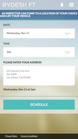 android RydeShift Screenshot 2