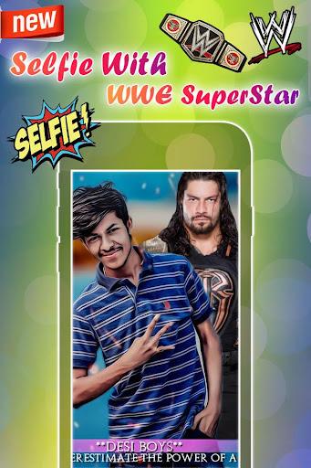 Selfie with WWE Superstars : WWE Photo Editor 2018 1.0 screenshots 4