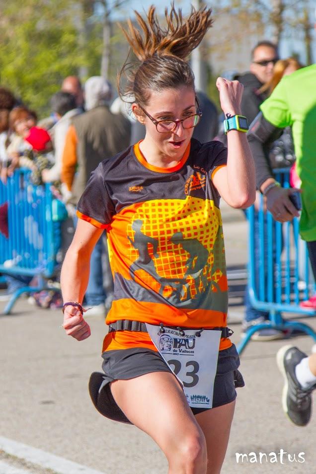 corredora en meta