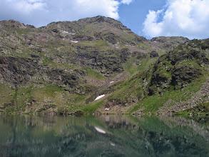 Photo: Andorra:  estany superior de Tristaina amb el pic de Tristaina