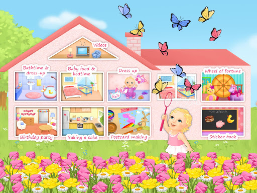 Sweet Baby Girl - Dream House and Play Time screenshot 11