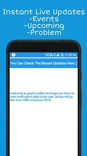 Paytm Wallet Recharge - náhled