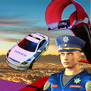 US Police Car Driving Impossible Stunts Mania 2018 icon