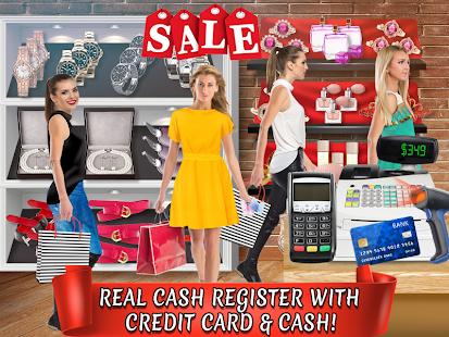 Credit Card Cash Register Simulator - Money Games - náhled