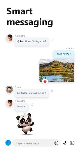 Skype - free IM & video calls 8.49.0.49 screenshots 2