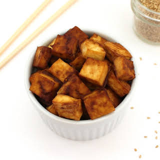 Perfectly Crispy Baked Tofu.