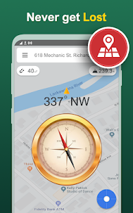 Digital Compass Free – Smart Compass for Android