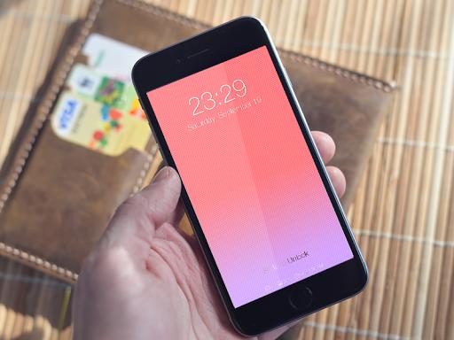 Colorful Wallpaper Lockscreen