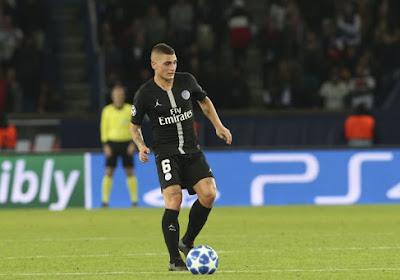 Marco Verratti, le milieu de terrain du PSG a rendu hommage aux supporters parisiens qui avaient effectué le déplacement à Manchester