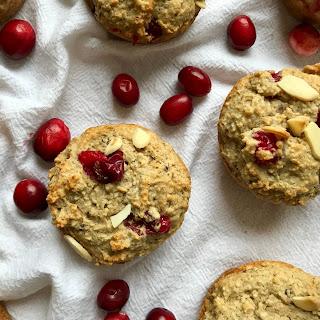 Cranberry Almond Muffins.