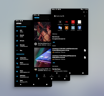 PitchBlack Origins│Nougat/Oreo Substratum Theme Screenshot