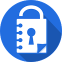 Notepad with password FREE icon