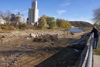 Photo: Looking downstream 10/28/13