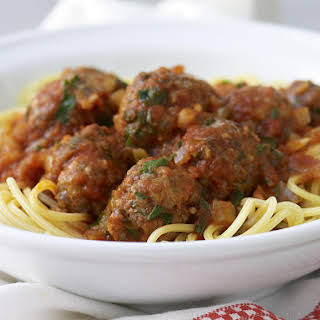 Spaghetti with Meatballs.