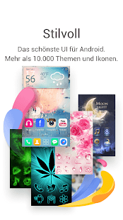 Go Launcher EX (German) for Android: Almost like a new phone - Android App