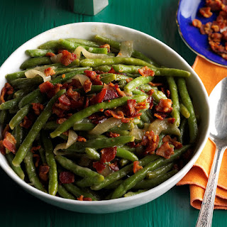 Tangy Bacon Green Beans Recipe