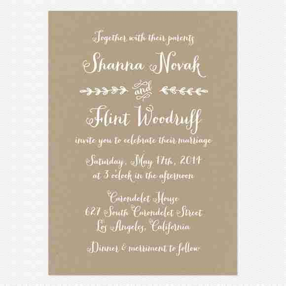 wedding invitation design screenshot - Wedding Invitation Design Ideas