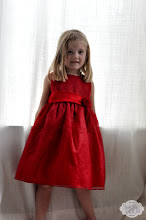 Photo: H immediately wanted to model her new dress.
