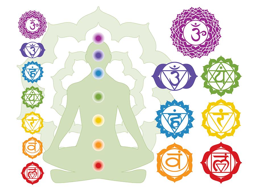 the symbol of 7 chakras