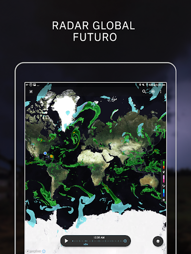 Storm Radar: mapa climático screenshot 10