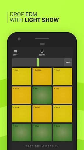 Trap Drum Pads 24 - Make Beats & Music screenshot 2