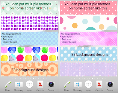 Sticky Memo Notepad *Dots*- screenshot thumbnail