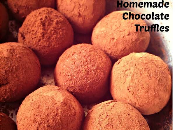 Homemade Truffles With Many Variations. A Good Christmas Gift For Your Loved Ones