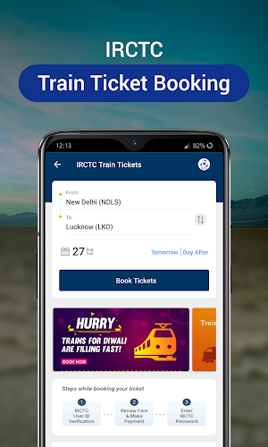 Train ticket download with pnr