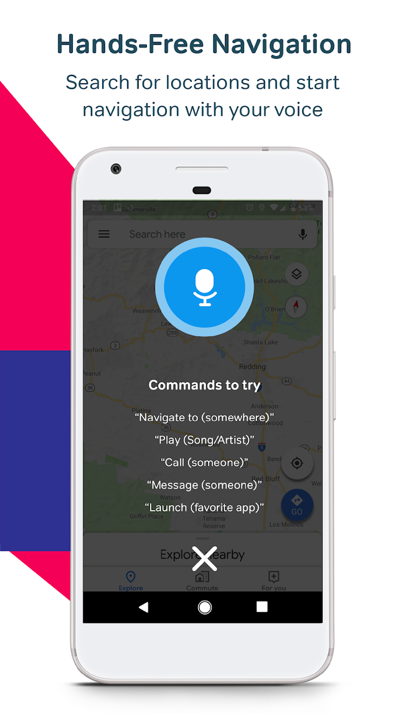 Drivemode: Handsfree Messages And Call For Driving Screenshot 1