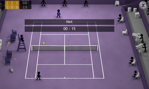 Stickman Tennis apkpoly screenshots 3