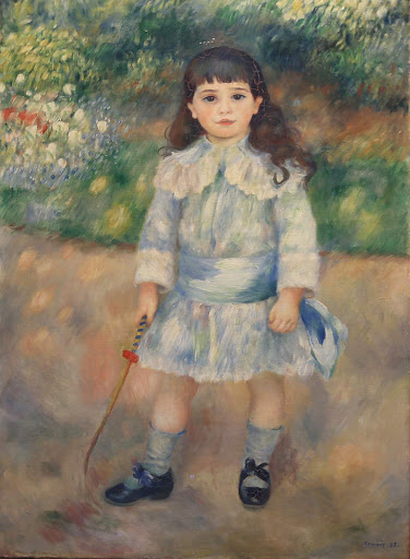"auguste-renoir-child-with-whip.jpg -  Auguste Renoir, ""Child With a Whip,"" 1885, oil on canvas."