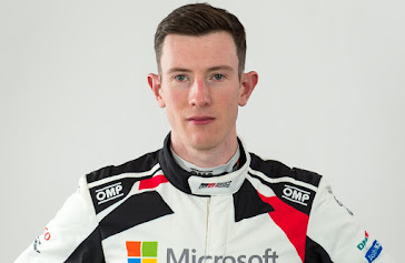 Elfyn gets on his bike