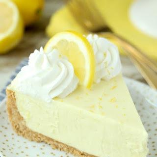 No-Bake Lemon Cream Pie Recipe