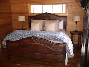 Photo: Guest cabin number one bedroom