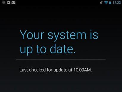 Actualizaciones Disponibles ? screenshot