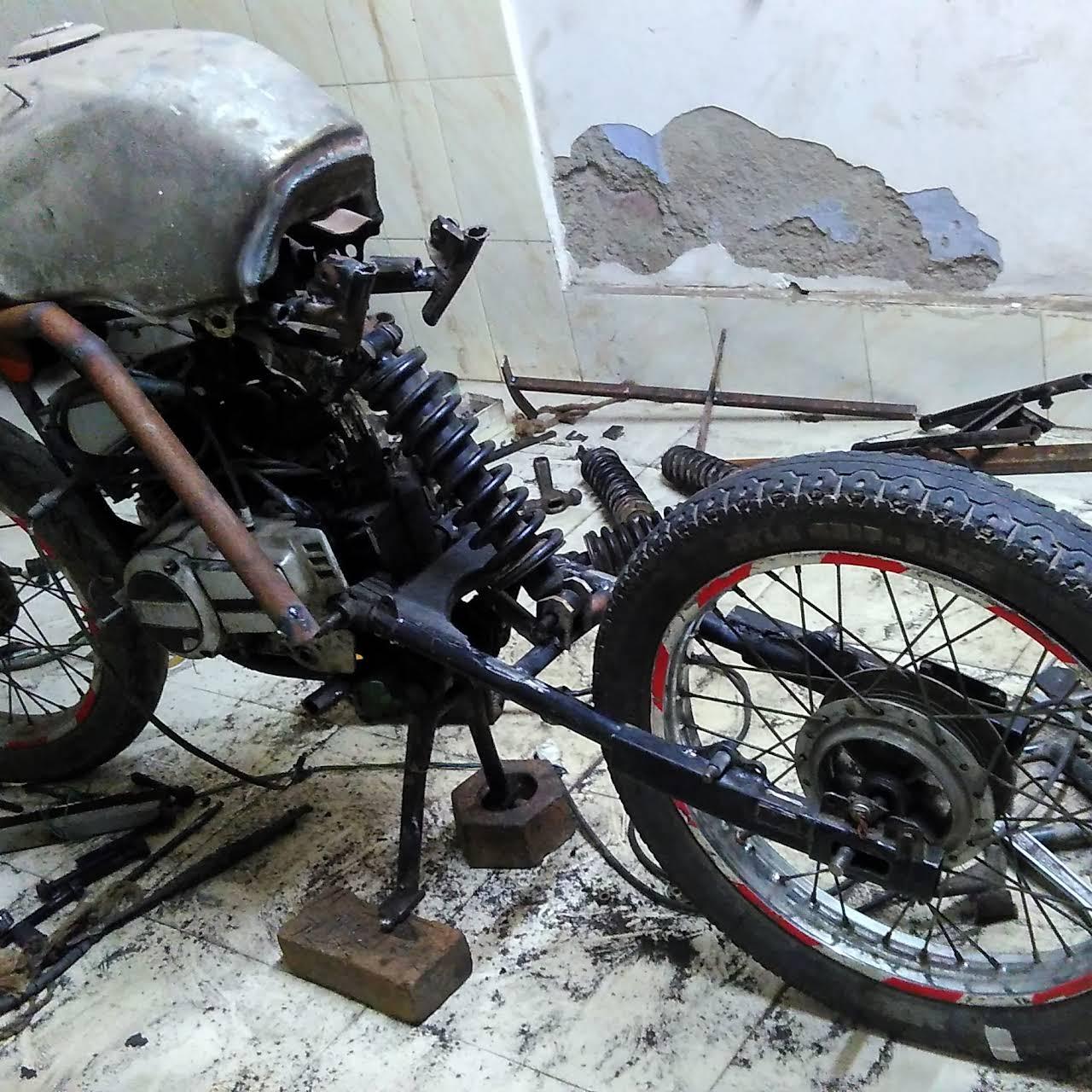 WARN WAR bike modification - Motorbike modification
