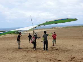 Photo: ハングにはそこそこな風