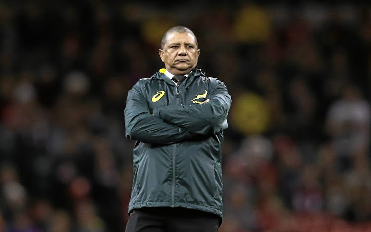 Springbok coach Allister Coetzee's reign appears to be at an end. Picture: Getty Images