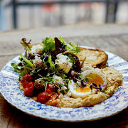 Mediterranean Breakfast Plate