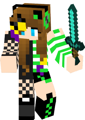 only we can use this skin sorry and this skin is mixed with ore original skins <3