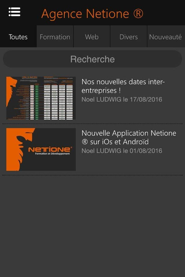Netione ®- screenshot