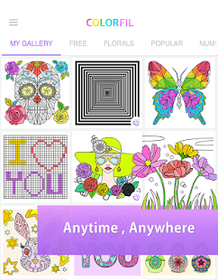 ColorFil - Adult Coloring Book - Android Apps on Google Play
