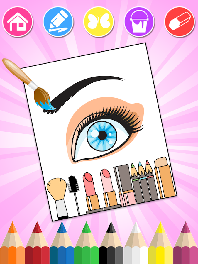 Beauty Coloring Book- screenshot