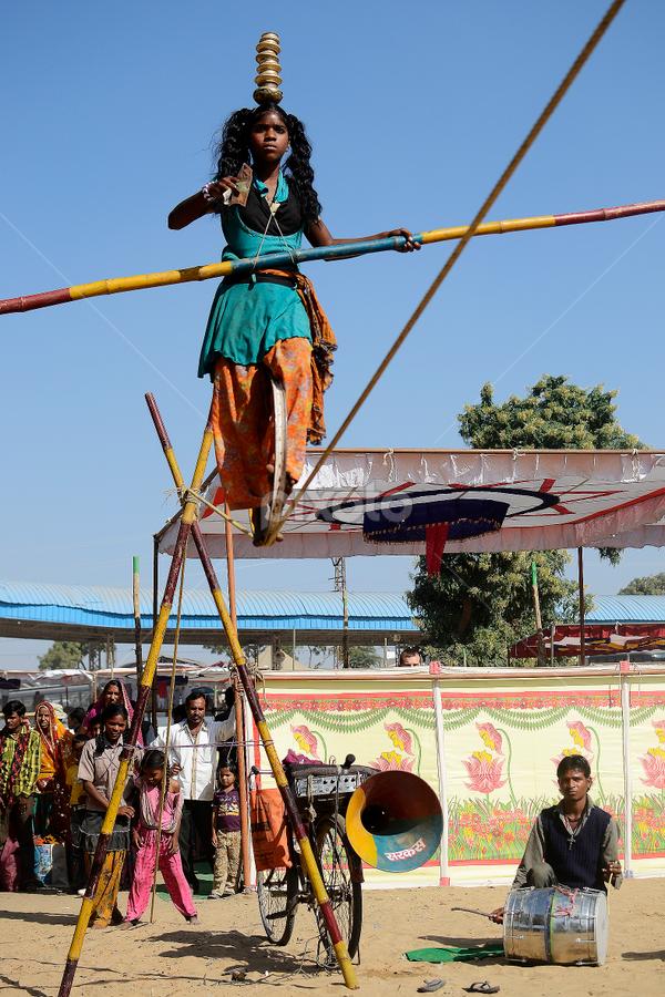 Circus by Krishnendu  Pramanik - City,  Street & Park  Amusement Parks