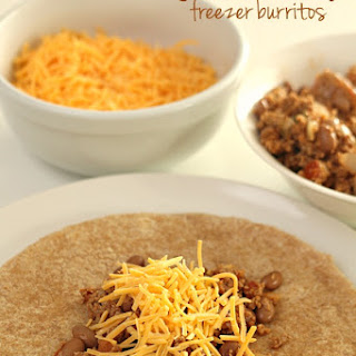 Ground Turkey Freezer Burritos (Healthy Lunch) Recipe