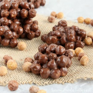 Back to School Snack! Chocolate Peanut Butter Clusters