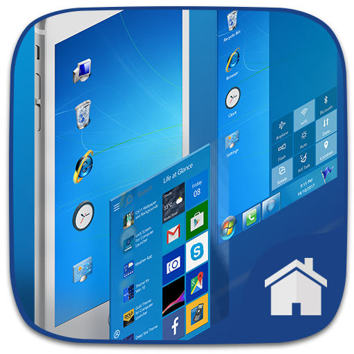Win 7 Theme for Computer Launcher