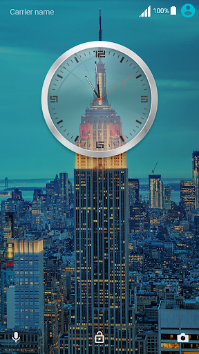 City Lights ND Xperia Theme 3.0.0 screenshots 1